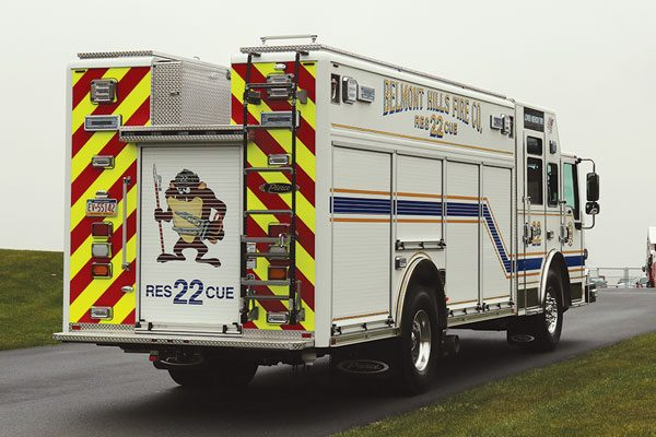 Belmont Hills Fire Company, 2018 Pierce® Velocity™ Heavy Duty Rescue non-walkin