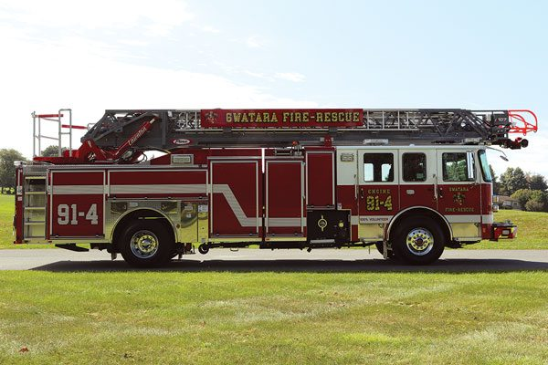 SWATARA TOWNSHIP 2018 Pierce® Enforcer™ Aerial 107'