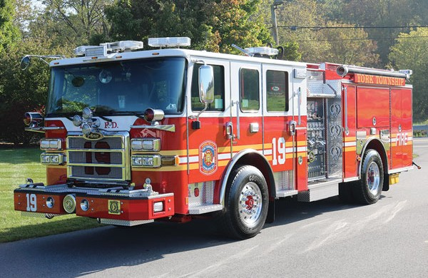 2017 Pierce® Enforcer™ Pumper