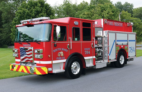 South Ward Fire Company 2017 Pierce® Saber FR™ Pumper