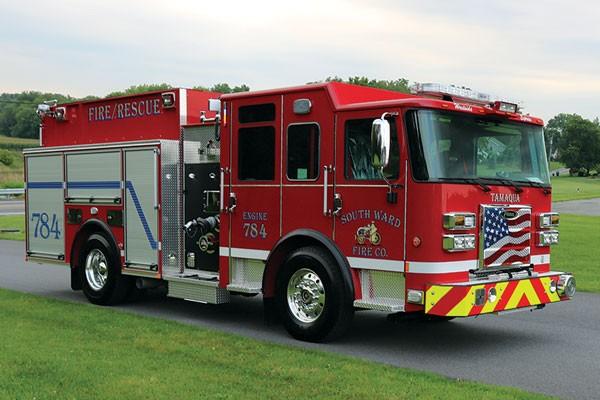 South Ward Fire Company 2017 Pierce® Saber FR™ Pumper
