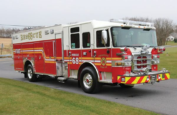 FAIRVIEW TWP FIRE DEPT. 2018 Pierce® Enforcer™ PUC Rescue Pumper