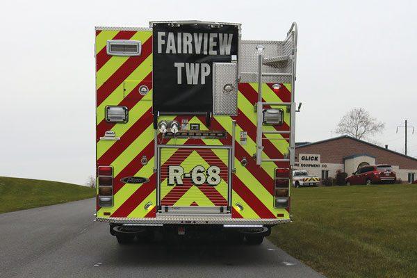 FAIRVIEW TWP FIRE DEPT. 2018 Pierce® Enforcer™ PUC Rescue Pumper