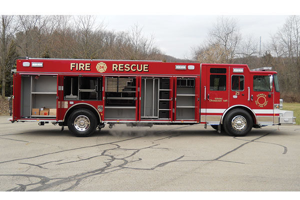 SENECA VOLUNTEER FIRE DEPT - Pierce Enforcer Rescue - 31349