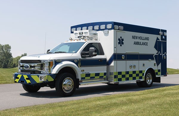 2017 Braun Chief XL Type I Ambulance