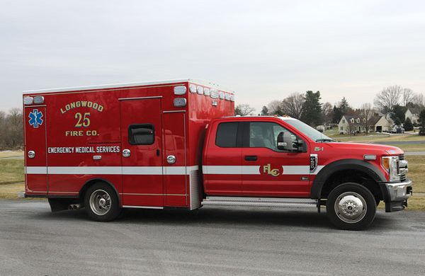LONGWOOD FIRE COMPANY - 2017 Braun Liberty Series Type I Ambulance
