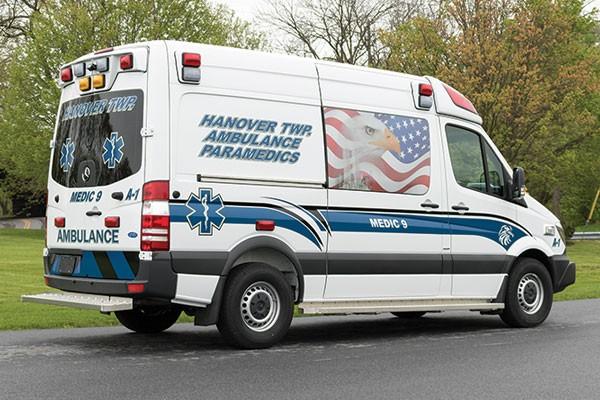 2017 Demers Mirage EXE - Type II Ambulance